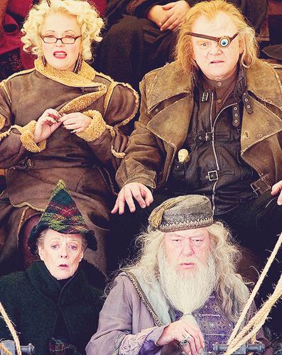 Rita, Alastor, Albus and Minerva
