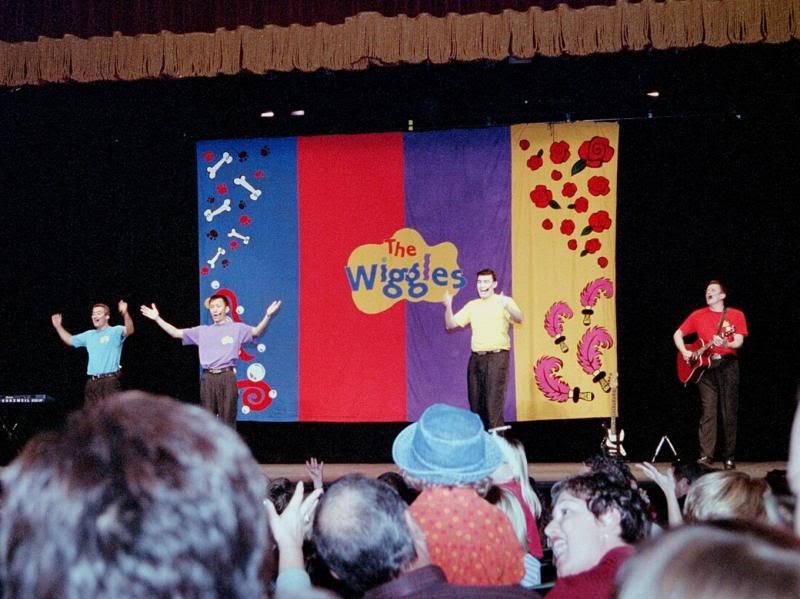 Rock A Bye Your oso, oso de Wiggly concierto