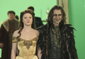 Rumpelstiltskin & Belle- Skin Deep- BTS Photos