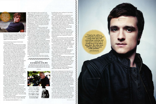 Scans of THG Feature in The Hollywood Reporter