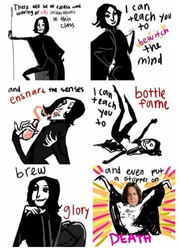 Sexy, sexy Snape