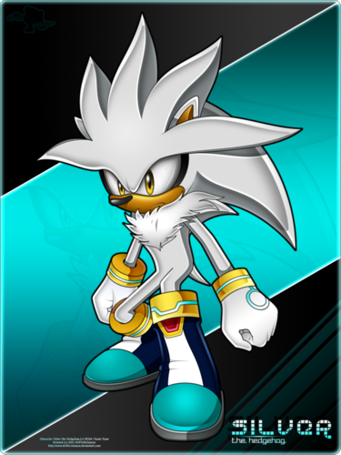 Silver the Hedgehog wallpaper probably containing Anime called Silver