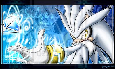 silver the hedgehog  Silver - silver-the-hedgehog Fan Art