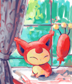 Skitty - skitty fan art
