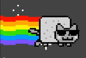 Nyan Cat Hintergrund entitled Smooth Jazz Nyan