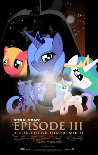 étoile, star poney Episode III: Revenge Of Nightmare Moon