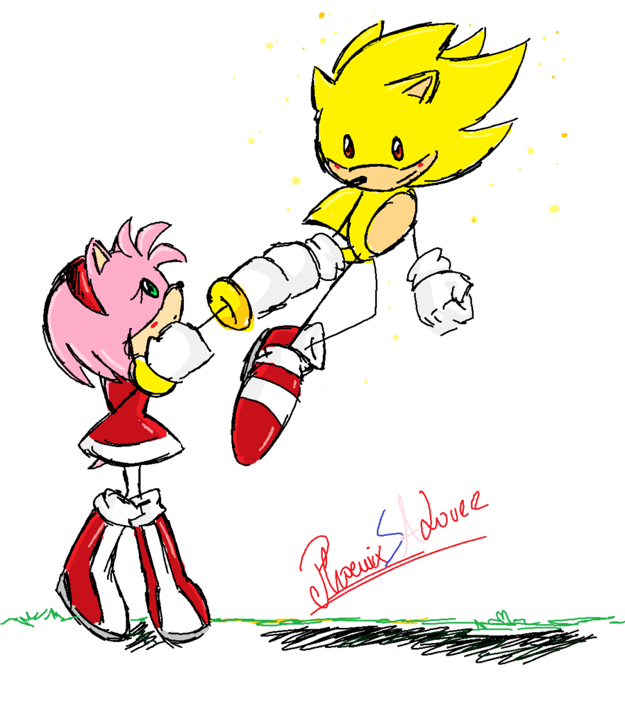 sonic and amy are dating