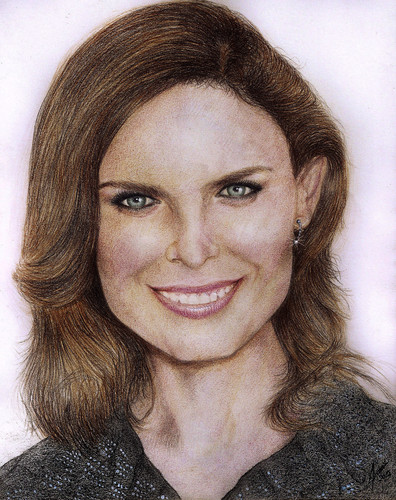 Emily Deschanel wallpaper with a portrait called Temperance Brennan