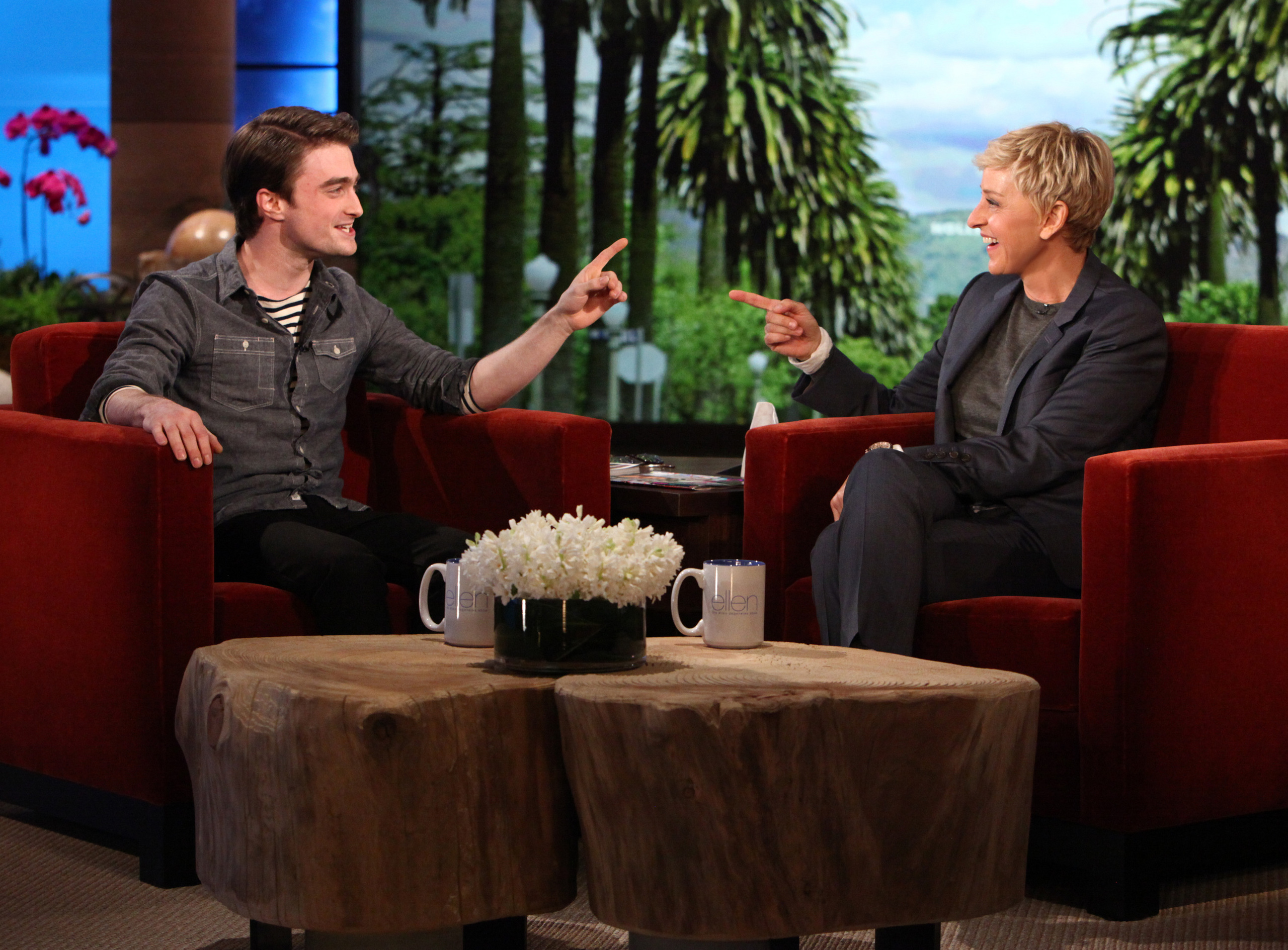The ellen degeneres show february 2 2012 hq daniel radcliffe photo 28785265 fanpop - Ellen show videos ...