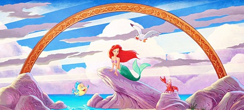 The Little Mermaid - Mural