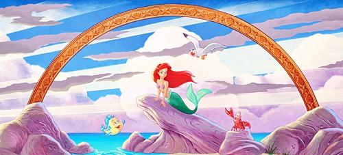 The Little Mermaid - Mural