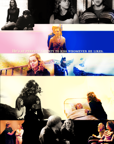 The Ron and Hermione yearbook | year six
