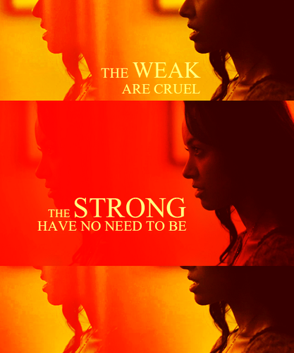The Weak and Strong