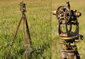 Theodolite (surveying instrument) used by Lily Bell in Episode 9
