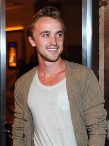 Tom Felton- The Woman In Black LA Premiere - tom-felton Photo