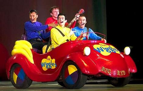 Toot Toot Chuggar Chuggar Big Red Car Wiggly concierto 1