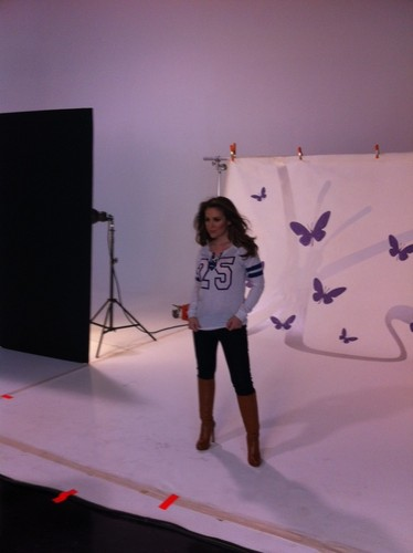 Touch 2012 Photoshoot - Behind The Scene - alyssa-milano Photo
