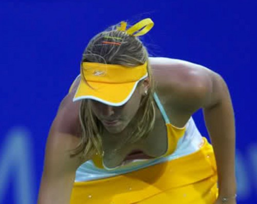 Vaidisova showed breast