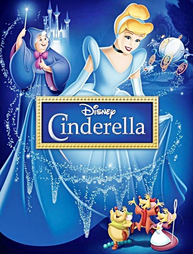 Walt Disney DVD Covers - Cinderella Diamond Edition
