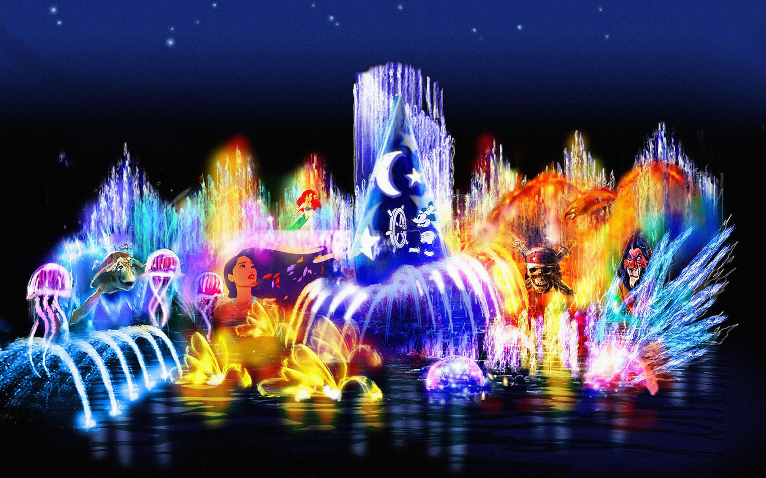 Disney California Adventure World Of Color Walt Disney