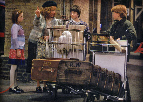 Weasley At the station