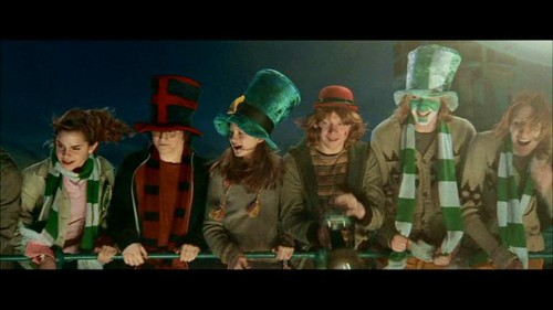 Weasley at quidditch world cup