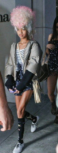 Willow Smith Hintergrund possibly with a hip boot called Willow <3