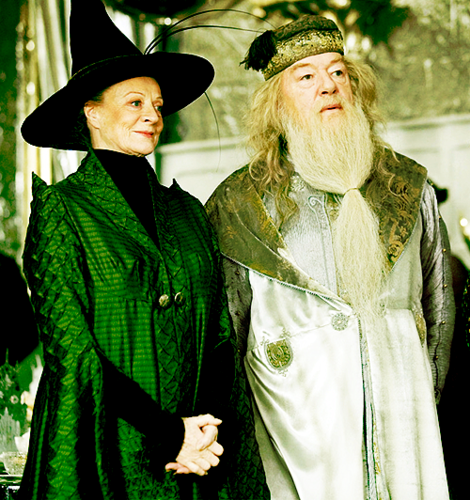 With Dumbledore