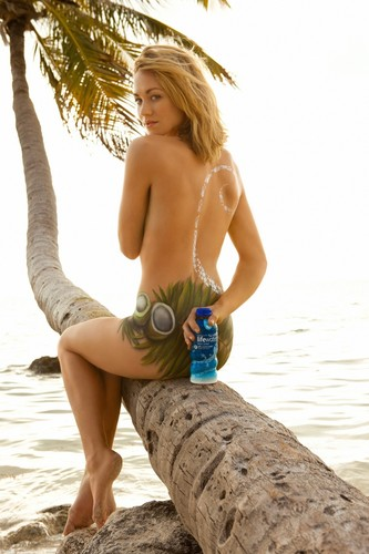 Yvonne Strahovski Hintergrund possibly containing skin entitled Yvonne Strahovki ~ 2012 SoBe Lifewater Campaign