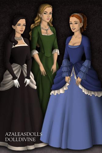 Zatann,Artemis and Megan