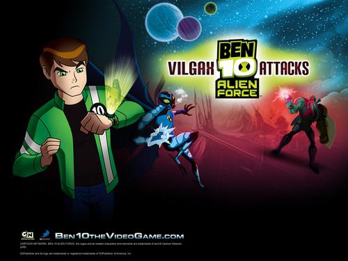 Ben 10: Alien Force wallpaper containing anime titled best