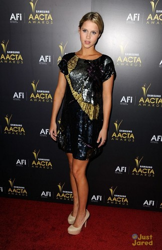 claire holt on the carpet aacta awards 2012