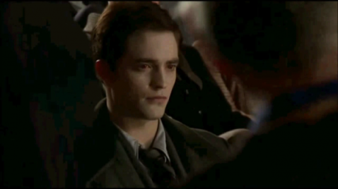 Breaking Dawn The Movie پیپر وال containing a business suit called edward with red eyes