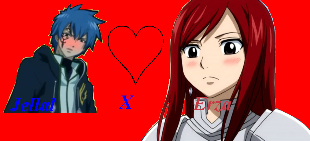 erza x jellal images erza x erzafallin in love wallpaper