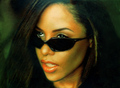 green - aaliyah fan art