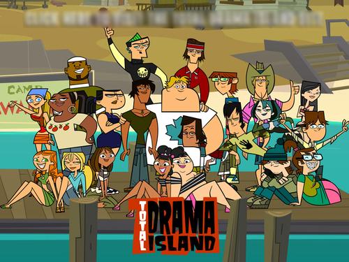 i Cinta total drama island