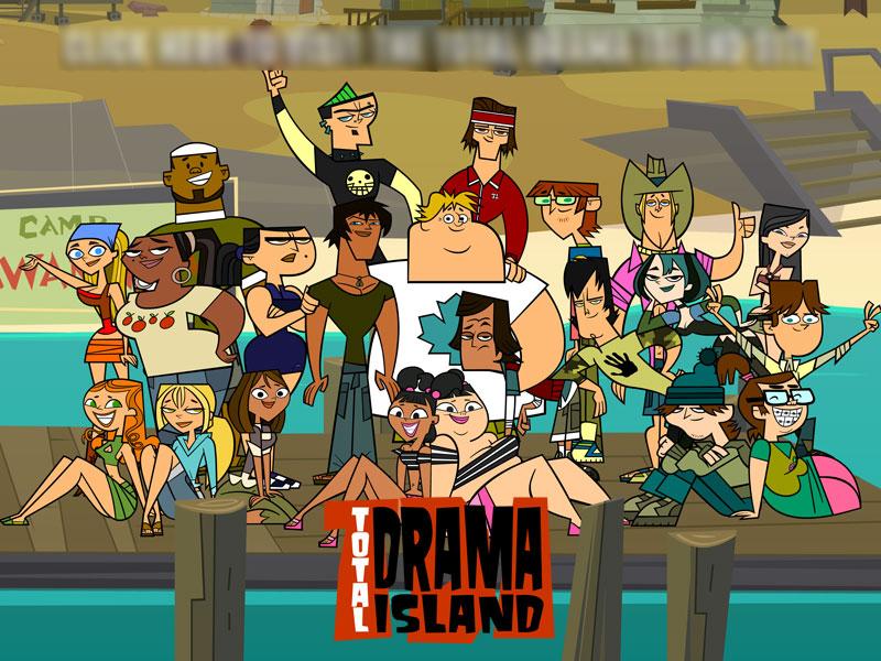 i l'amour total drama island
