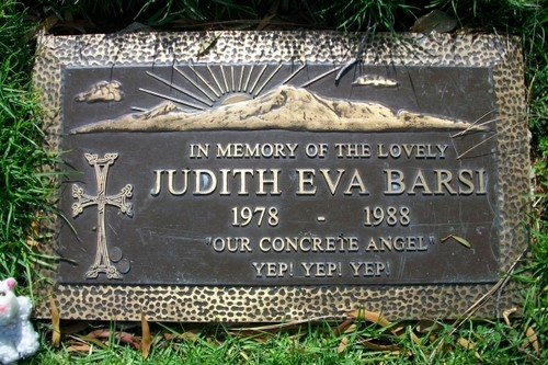 judith eva barsi(June 6, 1978 – July 25, 1988)