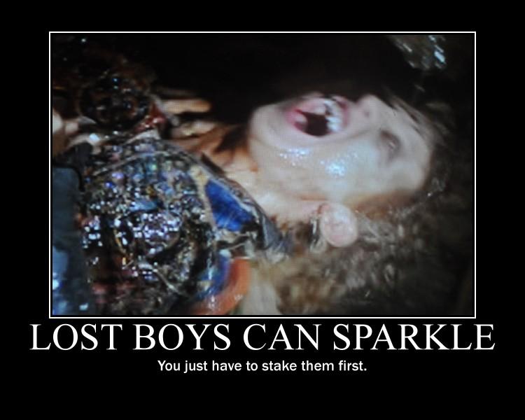 लॉस्ट boys can sparkle