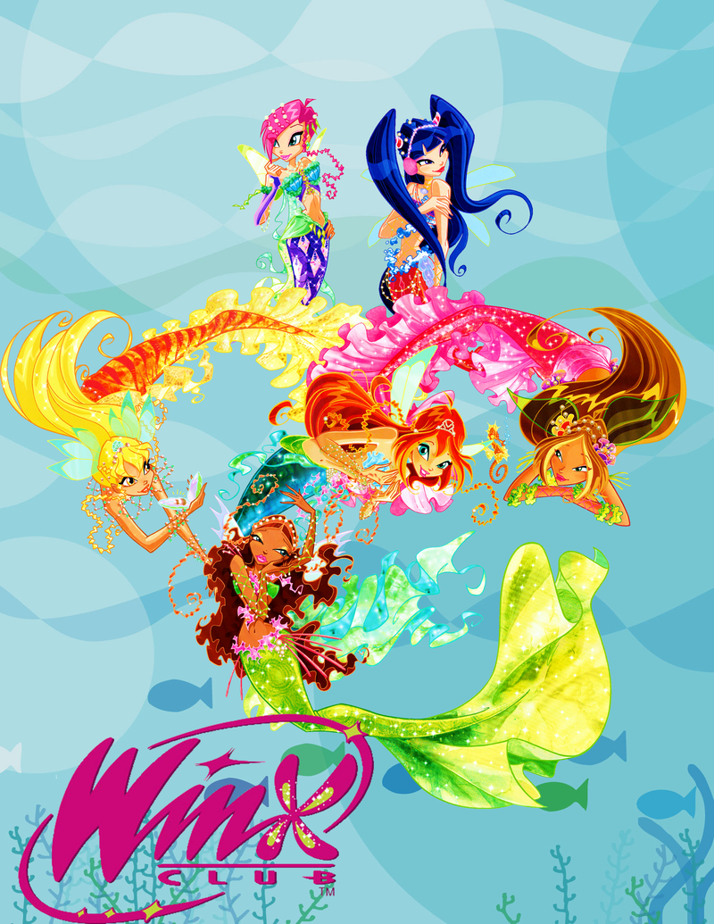 The winx club mermaids
