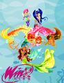 Маг аватарок Аниме-Винкс:Loli pops и игра одень девочку чертенка!