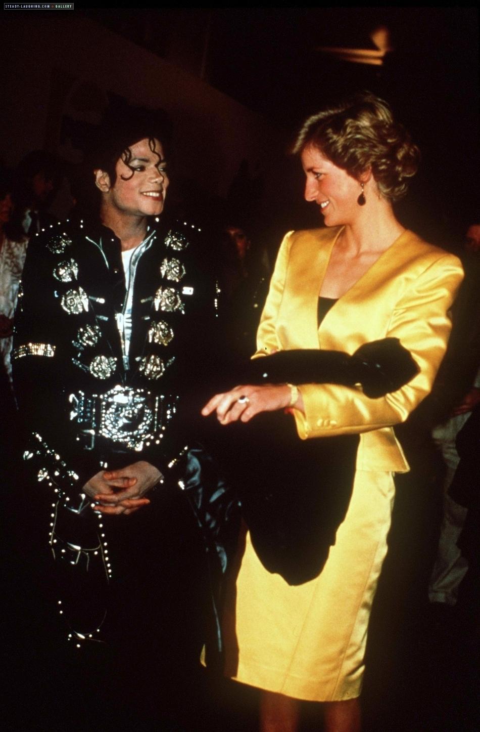 princess diana and michael jackson