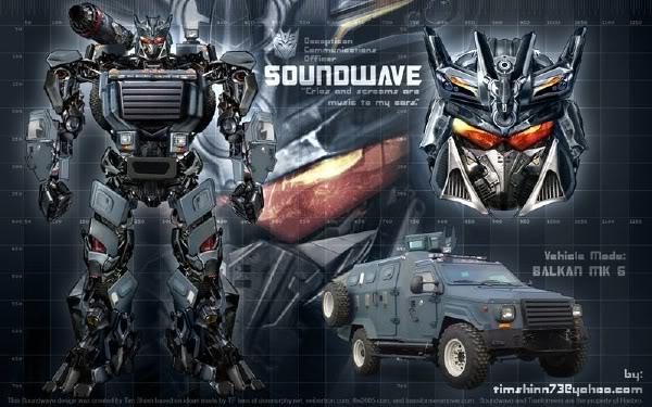 soundwave gambar