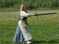 sword training - larp photo