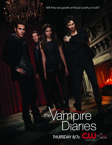 the vampire diaries season 3 poster