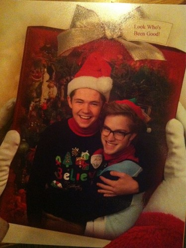 via Cameron Mitchell: Meet Dameron at Christmas. This will be hanging on our wall.