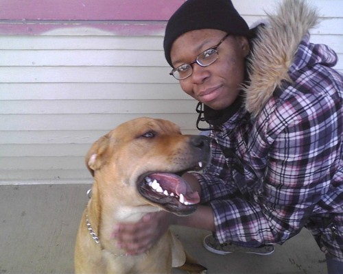 Ivory and Chad the Dog