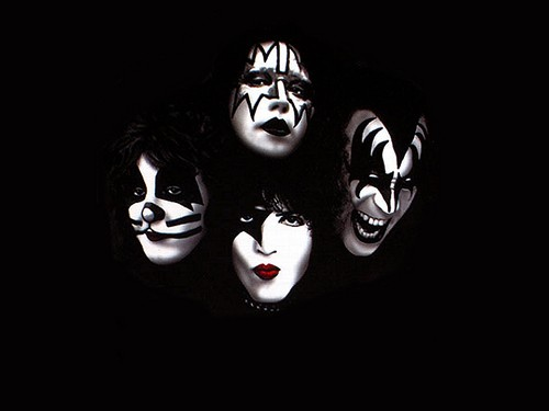 KISS wallpaper probably containing a ski mask entitled ☆ Kiss ☆