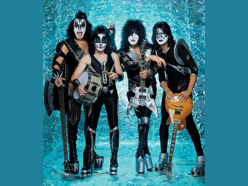 a history of kiss in american rock music
