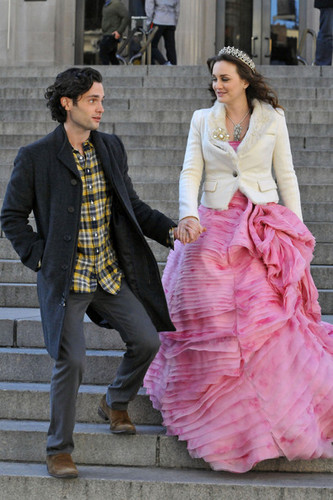 Set foto-foto of Blair & Dan